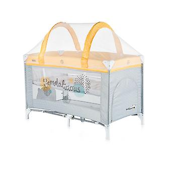 Chipolino travel cot Ariel, side entrance, insect repellent, 2 levels, carrying bag
