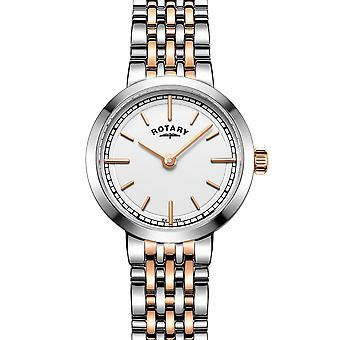 Rotary LB05061-02 Women's' Two-Tone Canterbury Wristwatch