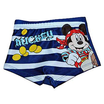 Mickey Mouse, blauw, badmode