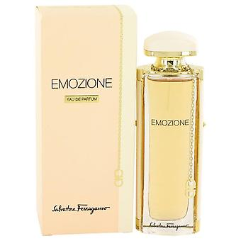 Emozione eau de parfum spray par salvatore ferragamo 531785 50 ml