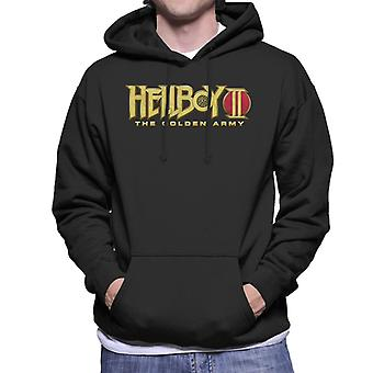 Hellboy II The Golden Army Logo Men's Hooded Sweatshirt