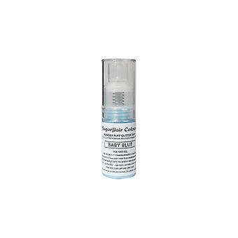 Sugarflair poeder Puff glitter Dust spray-Baby Blue 10g