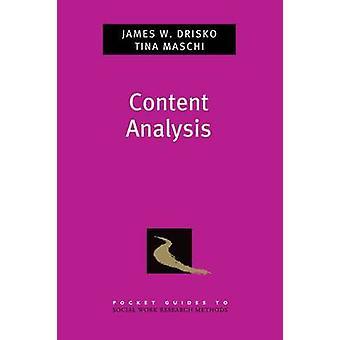Content Analysis by Drisko & James Professor & Professor & Smith College School of Social WorkMaschi & Tina Associate Professor & Associate Professor & Fordham University