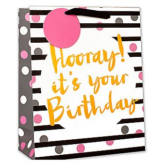 Simon Elvin Hooray Its Your Birthday Foil Gift Bags
