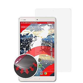 atFoliX 2x Pellicola Protettiva compatibile con Huawei MediaPad M3 8.4 chiaro