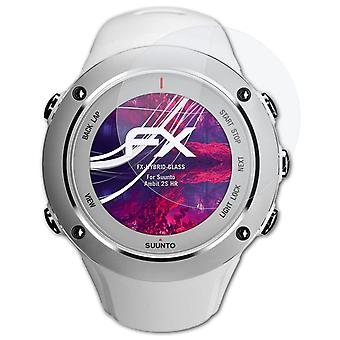 atFoliX Glass Protector compatible with Suunto Ambit 2S HR Glass Protective Film 9H Hybrid-Glass