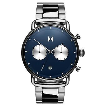 MVMT Blacktop Chrono Men's Watch Wristwatch Stainless Steel D-BT01-BLUS