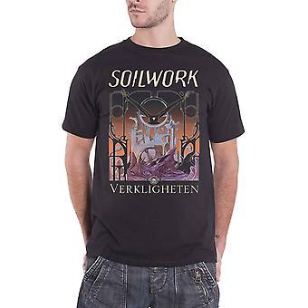 Soilwork T Shirt Verkligheten Band Logo death metal new Official Mens Black