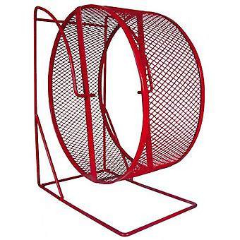 Trixie Metal Exercise Wheel with Closed Mesh Running Surface ø28 cm