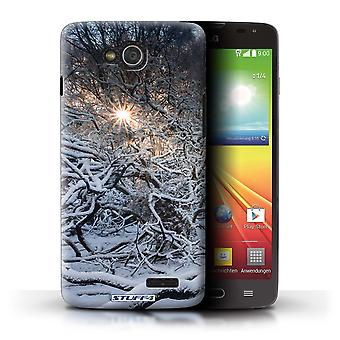 STUFF4 Case/Cover for LG L90 Dual/D410/Sunrays/Winter Season