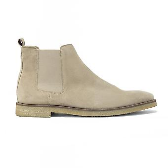 Walk london hornchurch chelsea boot in stone suede