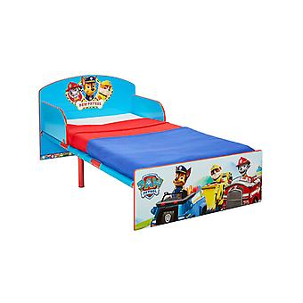 Paw Patrol Toddler Bed Plus Full Sprung Colchão