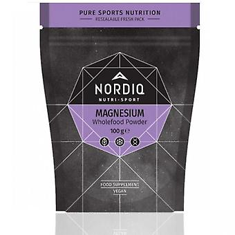 NORDIQ Nutrition Magnesium Wholefood Powder 100g