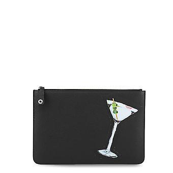 Fendi Original Unisex All Year Clutch Bag - Black Color 34354