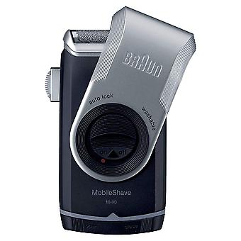 Braun M90 Mobile Shave Ultra Flexing Smart Foil Shaver Batterie betrieben Tragbar