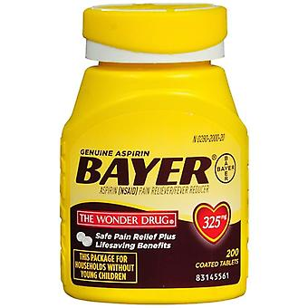 Bayer genuine aspirin pain reliever, 325 mg, tablets, 200 ea