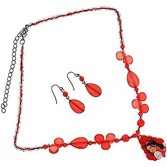 High School Musical Red Faceted Bead 18