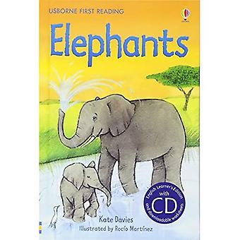 Elefantes (primeira leitura): Usborne Inglês-intermediário (nível 4)