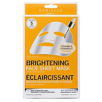 Danielle Creations Vitamin C Brightening Sheet Mask