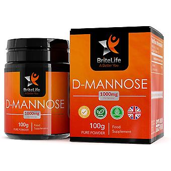 BriteLife D-Mannose Pure Powder