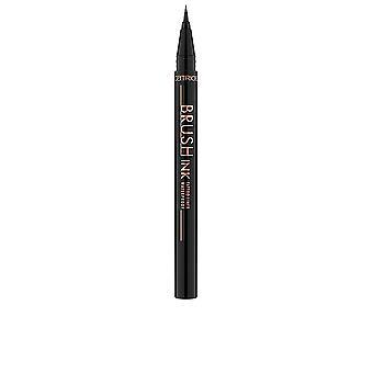 Catrice Brush Ink Tattoo Liner Vattentät #010-svart 1 Ml för kvinnor