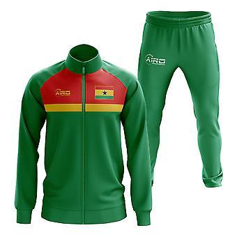 غانا مفهوم كرة القدم Tracksuit (الأخضر)
