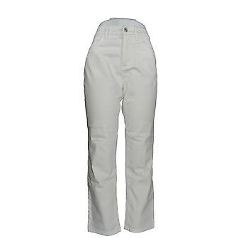 Denim & Co. Damen's Jeans Classic Denim Weiß A304475 #1