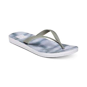 Reef. Escape Lux Tie-Dye Flip-Flop Sandals Grey Size 5M