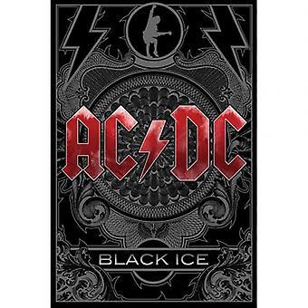 AC-DC Poster Black Ice 256