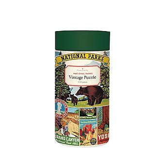 Cavallini US NATIONAL PARKS Jigsaw Puzzle 1000 Pieces
