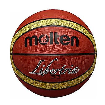 Molten 33 Libertria Indoor Outdoor Rubber Basketball Ball Tan