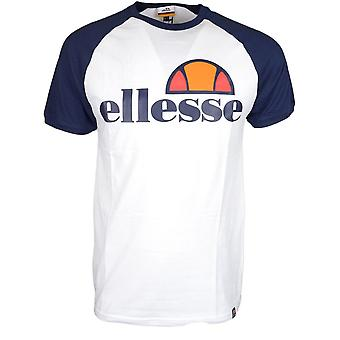 Ellesse Cassina katoen optische witte T-shirt
