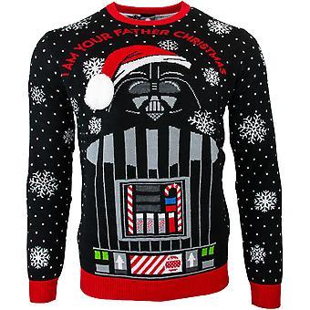 Officiële Star Wars ' Ik ben uw vader ' Darth Vader kerst jumper/lelijke trui