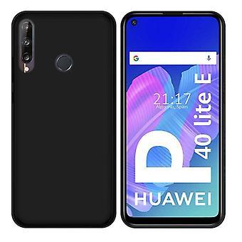 Huawei P40 Lite E - Matt TPU soft shell - musta