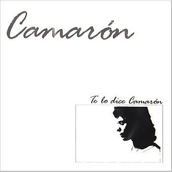 Camaron De La Isla - Te Lo Dice Camaron [CD] USA import