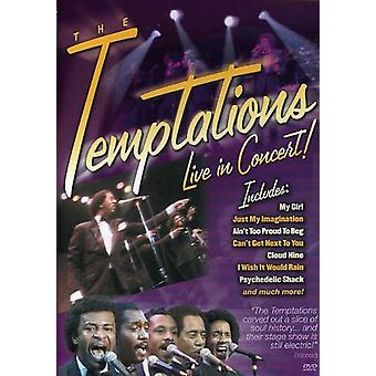 Temptations - Live in Concert [DVD] USA import