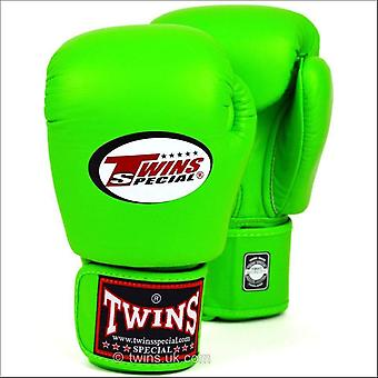 Twins special lime green boxing gloves