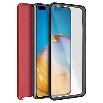 Cover Huawei P40 Pro/P40 Pro Plus Hard Back + Soft Front Red