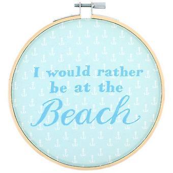 Algo diferente eu prefiro que seja na praia aro decorativo