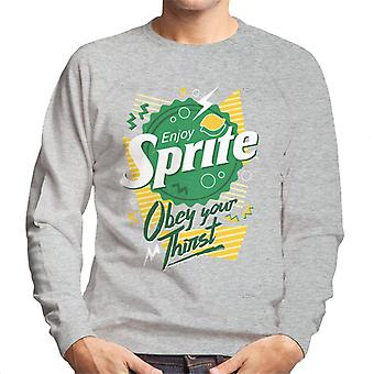 Sprite 90s Bottlecap Obey Your Thirst Men's Sweatshirt