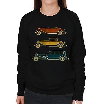 The Saturday Evening Post Classic Cars Women's Sweatshirt