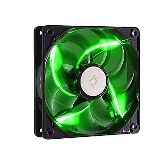 Refroidisseur Master Sickleflow 120Mm Green Led Case Fan Rifle Bearing