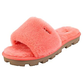 UGG Cozette Womens Slide Sandals in Coral