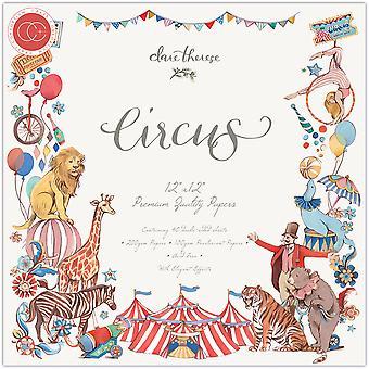 Craft Consortium Circus 12x12 Inch Paper Pad