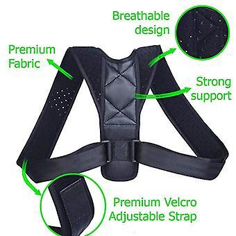Chrbtica zadné rameno bedrovej ortézy Podpora - Nastaviteľné držanie tela korekčný pás
