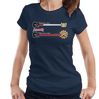 Aggretsuko Retsuko 100 Prosent Raseri Dame's T-skjorte