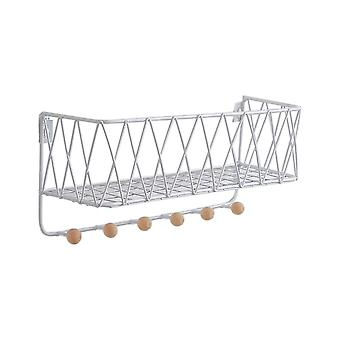 Creative Home Iron Wall-mounted Storage Racks Grande Bianco