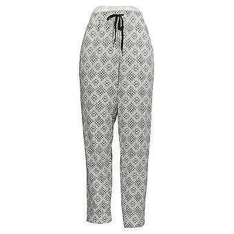 Cuddl Duds Frauen's Petite Pyjama Hose Comfortwear Jogger grau A368081
