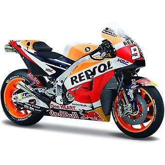 Maisto Moottoripyörä 1:18 Honda Repsol 2018 Marc Marquez