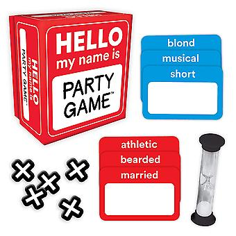 Games - Ceaco Gamewright - Hello My Name Is - Party Game New 1110d